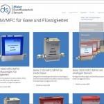 Webseitenkonzept KMU Produktkategorien