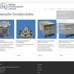 Webseitenkonzept KMU Unterseite Produktkategorien 2