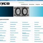Website hyco - Pumpenvarianten