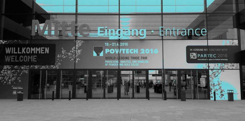 Powtech 2016 Nürnberg - EIngang