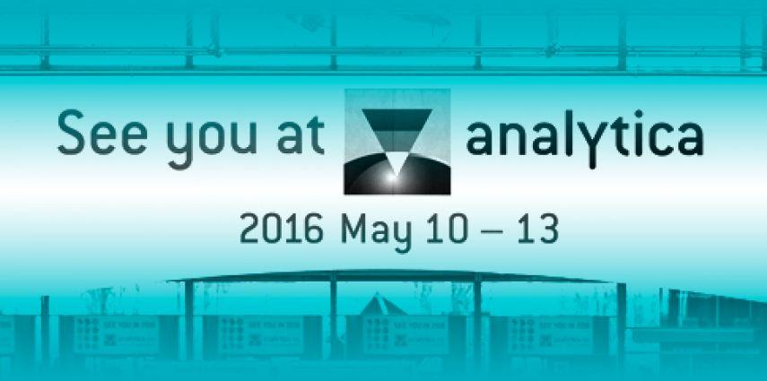 Einladung Analytica München 2016