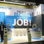 Messestand Elektror - Powtech 2016